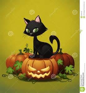 Halloween Pumpkin and Cat