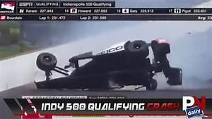 Accident Bourdais Indianapolis : crash during indy 500 qualifying leaves bourdais injured youtube ~ Maxctalentgroup.com Avis de Voitures