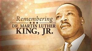 Dr. Martin Luther King Jr. Day - Bank Closed - Morgantown ...