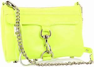 Rebecca Minkoff Rebecca Minkoff Mini Mac Clutch in Yellow