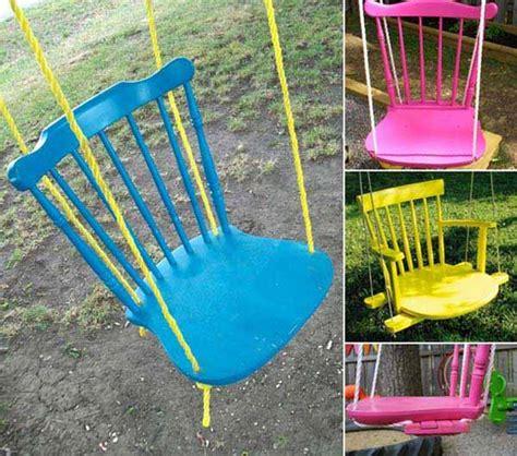 creative porch  backyard swing ideas home design