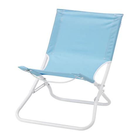 chaise plage håmö chaise de plage pliable bleu clair ikea