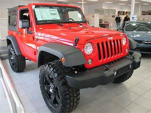 4x4 Jeep Wrangler : firecracker red jeep wrangler unlimited sport 4x4 with 37 tires on rockstar rims our lifted ~ Maxctalentgroup.com Avis de Voitures