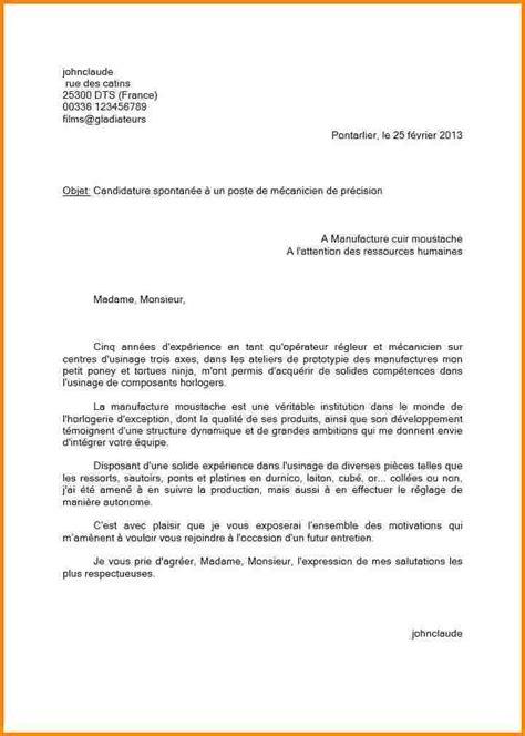 commis de cuisine suisse 11 lettre motivation candidature spontanée modele lettre