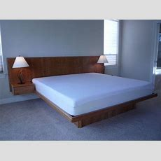Handmade Cherry Platform Bed By Natural Choice Furniture