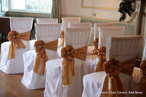 posh chair covers bows flower wall chiavari chairs