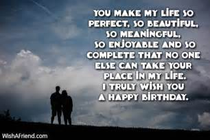 loved ones birthday wishes for loved one