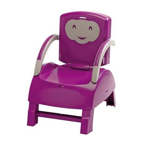 chaise prune thermobaby réhausseur de chaise prune et gris achat