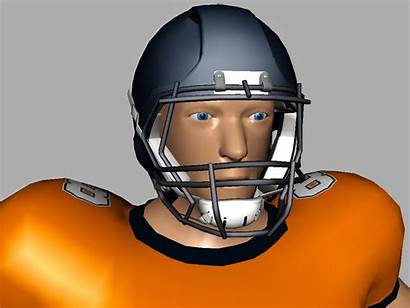 Football Player 3d American Nfl Models Realtime