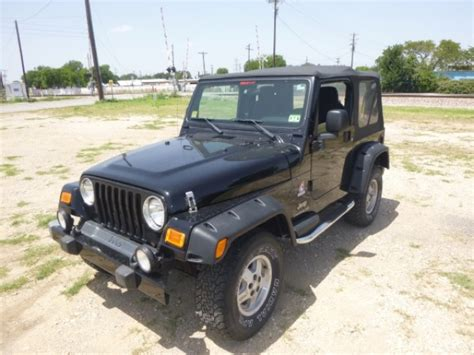 Jeep Wrangler Per Gallon by 2003 Jeep Wrangler 972 972 7200 Irving Cheap Cars