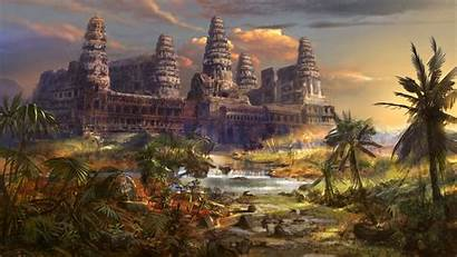 Temple Ancient Wallpapers Phone Architecture Million Buddha