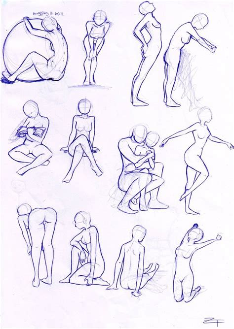 body positions art reference images