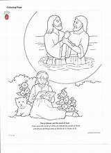 Baptism Coloring Printables Lds Jesus Lesson Primary Friend Happy Nursery Clean Living Manual Handouts Printable Getcolorings Getdrawings Sunday Behold Ones sketch template