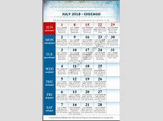 July 2018 Chicago Kannada Calendar Download USA Kannada