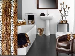 leopard bathroom decorating ideas animal print bathroom decorating ideas