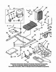 33 Kenmore Coldspot Model 106 Parts Diagram