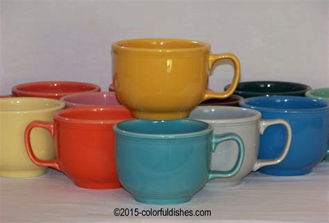 Fiesta® Mugs, Cups and Saucers