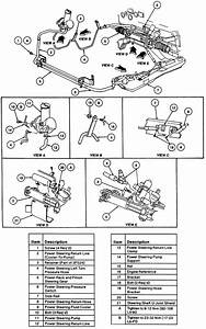 Ford Taurus Bracket Diagram
