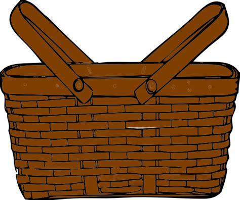 basket clip art  clkercom vector clip art