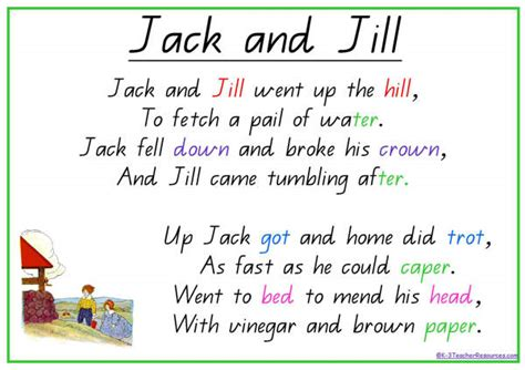 Old Jack S Boat Theme Song by Jack And Jill Nursery Rhyme