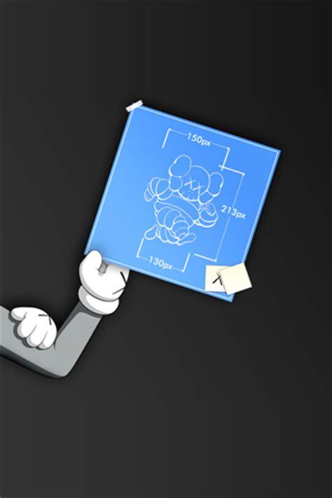 kaws iphone wallpaper idesign iphone