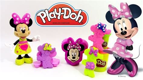 p 226 te 224 modeler play doh minnie mouse ton
