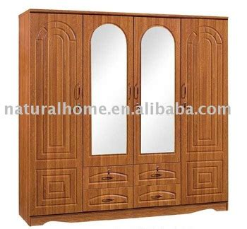 Wooden Wardrobe With Mirror by Wooden Wardrobe With Mirror Kt Tf86204 Buy Wooden
