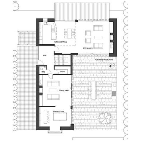 shape house plan  architect frank mcgahon house plans pinterest house plans house