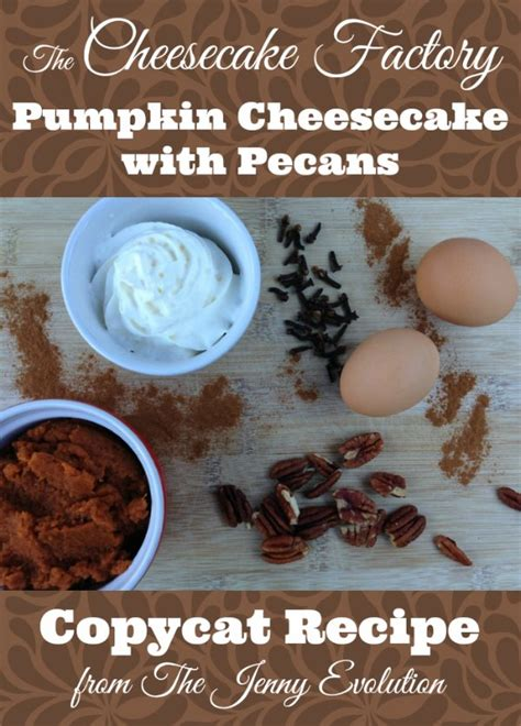 Place cheesecake in roasting pan then place roasting pan in oven and carefully pour in enough boiling water to reach halfway up the side of the cheesecake pan. Cheesecake Factory Pumpkin Cheesecake Recipe Copycat