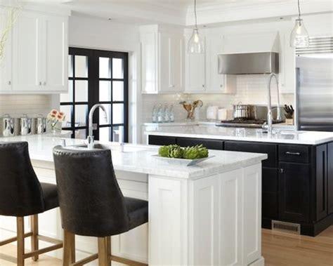 white kitchen with black island black kitchen island houzz