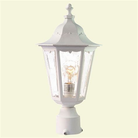 acclaim lighting tidewater 1 light textured white outdoor
