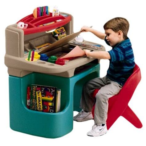 Toys R Us Step2 Deluxe Desk by Tikes Desk Wallpaper