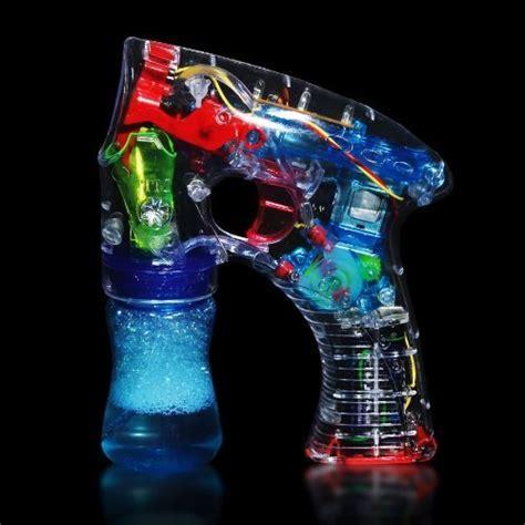 Rhode Island Novelty Light Up LED Transparent Bubble Gun