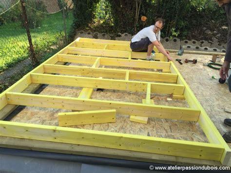 table de montage ossature bois construction atelier bois part4 atelier du bois