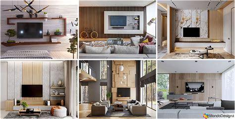 Parete Arredo Parete Tv 35 Idee Di Arredamento Dal Design Originale
