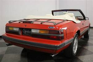 1986 Ford Mustang Gt Convertible 1986 Gt Used 5l V8 16v