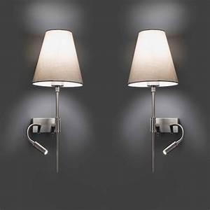 le charme envahissant de l39applique liseuse archzinefr With carrelage adhesif salle de bain avec lampe led pour liseuse