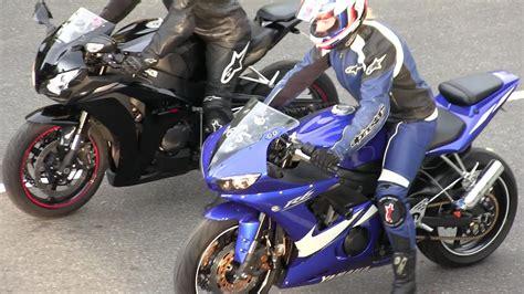 The Best Street Bikes Drag Racing,r6 Vs Cbr 1000rr