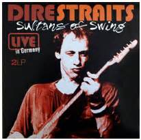Dire Straits Sultans Of Swing Studio Version by Original Bootleg Lp 180 S