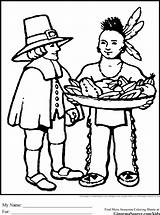 Coloring Pages Pilgrim Thanksgiving Pilgrims Sheets Printable Indian Indians Native Worksheets American Preschool Peach Paper Drinks Printables Ginormasource sketch template