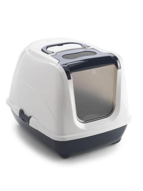 maison de toilette chat anti odeur flip cat animaloo