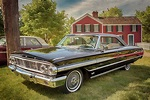 1964 Ford Galaxie 500 XL Photograph by Susan Rissi Tregoning