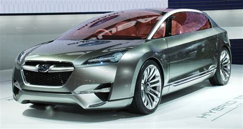 Subaru Executive Confirms Hybrid Car Plans