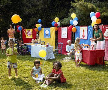 Backyard Carnivals by Carnival Host A Backyard Carnival Bash