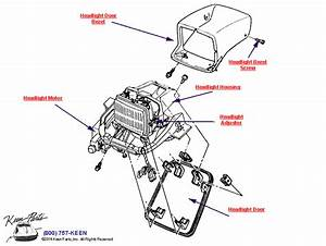 1969 Corvette Headlight Vacuum Diagram Pictures To Pin On