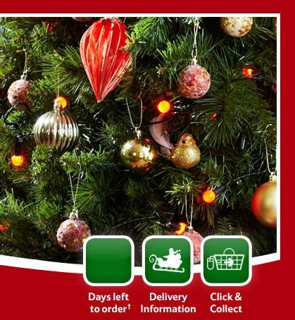 tesco christmas decorations now half price hotukdeals