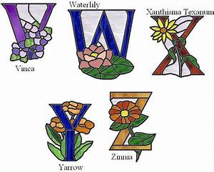 17 best images about alphabet numbers stained glass on With stained glass letters and numbers