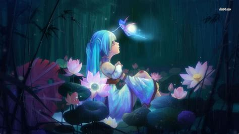 Anime Alone Wallpaper - wallpaper and background image 1366x768 id 490134