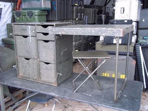 Surplus Desk by Surplus Army Field Desk Table Plus Chair Foldable