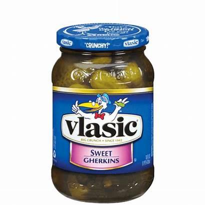 Sweet Pickles Vlasic Gherkins